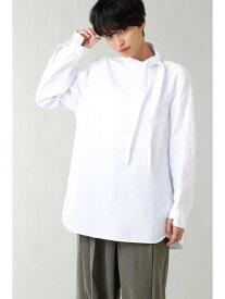 【SALE/55%OFF】ボウタイロングシャツ ROSE BUD ローズバッド シャツ/ブラウス シャツ/ブラウスその他 ホワイト【RBA_E】【送料無料】[Rakuten Fashion]