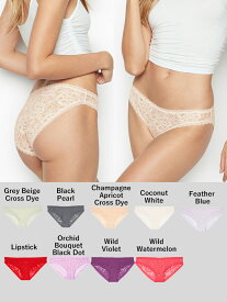 VICTORIA'S SECRET ヴィクトリアシークレット 下着 パンツ Bikini Panty THE LACIE ビキニパンティー