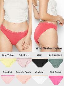 VICTORIA'S SECRET ヴィクトリアシークレット 下着 パンツ Lace Trim Bikini Panty レーストリムビキニパンティー スムース Lace Trim