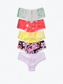 VICTORIA'S SECRET ヴィクトリアシークレット PINK ピンク 下着 5-PACK NO-SHOW CHEEKSTERS 11175104