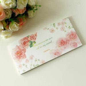 一筆箋 かわいい メモリーローズ 薔薇柄 メール便可 メモ帳 薔薇柄 花柄 ノート エレガント メッセージ