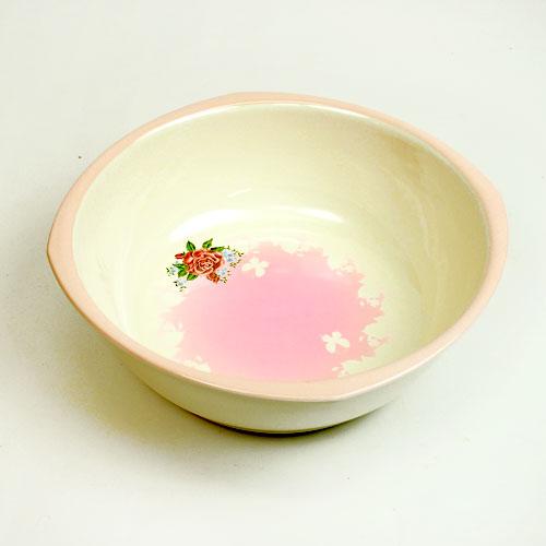 ジュリアキッチンボウル/ボール キッチン雑貨 ピンク 花柄 桶 かわいい 花柄 おしゃれ