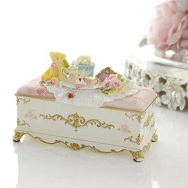 小物入れ ムーンベアーソファ 薔薇 雑貨 かわいい ギフト 姫系 ピンク 雑貨 プレゼント ジュエリー アクセサリー ボックス 収納