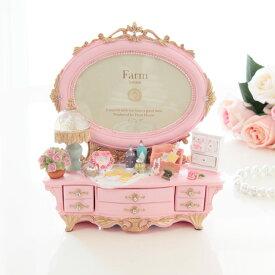 写真立て マリーローズ ドレッサー型 フォトフレーム ピンク プレゼント おしゃれ 結婚祝い 敬老の日 かわいい 子供 ギフト 誕生日 姫系 インテリア 贈り物