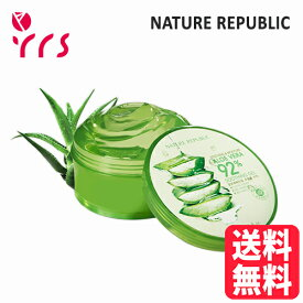 [NATURE REPUBLIC ネイチャーリパブリック] Soothing & Moisture Aloe Vera 92% Soothing Gel - 300ml / 正規品 スージング&モイスチャーアロエベラ92%スージングジェル
