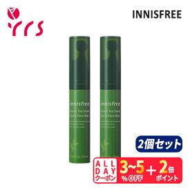 ★2個セット [INNISFREE イニスフリー] Green Tea Seed Eye And Face Ball - 10ml x 2 / 正規品 グリーンティー シード アイ&フェイスボール / グリーンティー