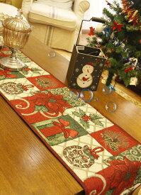 ポインセチア テーブルセンター33×180cm クリスマスコーディネート  新入荷