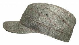 ウールタータン556ドゴールキャップ sp403【現品限り】帽子・大きいサイズ