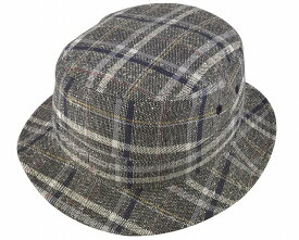 帽子・大きいサイズOK カラーネップチェック310カメラマンハット-sp477