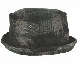 ウールタータン361ポークハット sp405帽子・大きいサイズOK・ウール・暖かい
