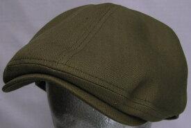 コットンヘリンボン486ハンチング6枚はぎカモノハシ型・帽子・大きいサイズOK・日本製