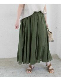 [Rakuten Fashion]【予約】ギャザーロングスカート ROSSO アーバンリサーチロッソ スカート スカートその他 グリーン ブラック ブルー パープル【先行予約】*【送料無料】