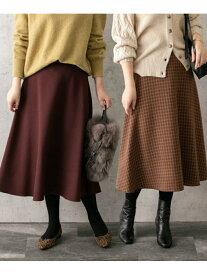 [Rakuten Fashion]リバーシブルミディスカート ROSSO アーバンリサーチロッソ スカート スカートその他 ブラウン ブラック ネイビー【送料無料】