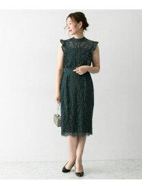 [Rakuten Fashion]配色レースコクーンドレス ROSSO アーバンリサーチロッソ ワンピース ワンピースその他 ブルー ネイビー【送料無料】