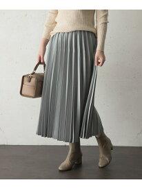 [Rakuten Fashion]【SALE/20%OFF】サテンプリーツスカート ROSSO アーバンリサーチロッソ スカート スカートその他 グレー ベージュ オレンジ ネイビー【RBA_E】【送料無料】