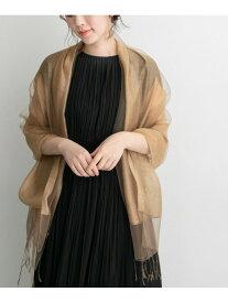 [Rakuten Fashion]シルクオーガンストール ROSSO アーバンリサーチロッソ ファッショングッズ ストール ゴールド グレー【送料無料】