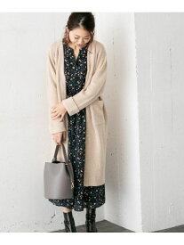 [Rakuten Fashion]異素材圧縮ニットコート ROSSO アーバンリサーチロッソ コート/ジャケット コート/ジャケットその他 ベージュ ブラウン【送料無料】