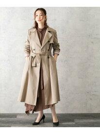 [Rakuten Fashion]ロングリボントレンチコート ROSSO アーバンリサーチロッソ コート/ジャケット トレンチコート ホワイト ベージュ ネイビー【送料無料】