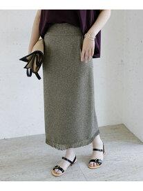 [Rakuten Fashion]【WEB/一部店舗限定】サマーツイードフリンジスカート ROSSO アーバンリサーチロッソ スカート スカートその他 イエロー ネイビー【送料無料】
