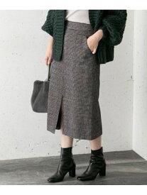 [Rakuten Fashion]モールチェックタイトスカート ROSSO アーバンリサーチロッソ スカート スカートその他 ネイビー ホワイト ブルー【送料無料】
