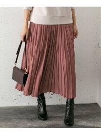 [Rakuten Fashion]プリーツロングスカート ROSSO アーバンリサーチロッソ スカート スカートその他 ブラウン ベージュ グリーン イエロー【送料無料】