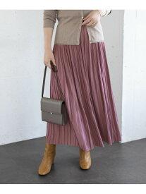 [Rakuten Fashion]ロングランダムプリーツスカート ROSSO アーバンリサーチロッソ スカート スカートその他 オレンジ イエロー グリーン【送料無料】