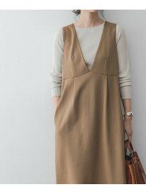 [Rakuten Fashion]【SALE/10%OFF】F by ROSSO ポンチジャンパースカート ROSSO アーバンリサーチロッソ ワンピース ワンピースその他 ブラウン ブラック【RBA_E】【送料無料】