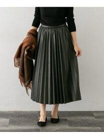 [Rakuten Fashion]【SALE/40%OFF】合皮プリーツスカート ROSSO アーバンリサーチロッソ スカート スカートその他 ベージュ ブラウン【RBA_E】【送料無料】