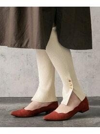 [Rakuten Fashion]リブニットレギンス ROSSO アーバンリサーチロッソ ファッショングッズ タイツ/レギンス ホワイト ベージュ ブラック【送料無料】