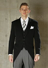 【RN】 昼間の正礼装 高級モーニングコート 結婚式のお父様に人気!【結婚式 /ウェディング/パーティー/フォーマルシーンに最適】