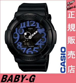 Review at the Quo card $1000-★ [regular special shop safe manufacturer's warranty, Casio baby-g black BGA-134-1BJF casio baby-g ladies Casio watches ladies casio watches baby-g purple neon Dial Watch neon dial series 10P24Oct15