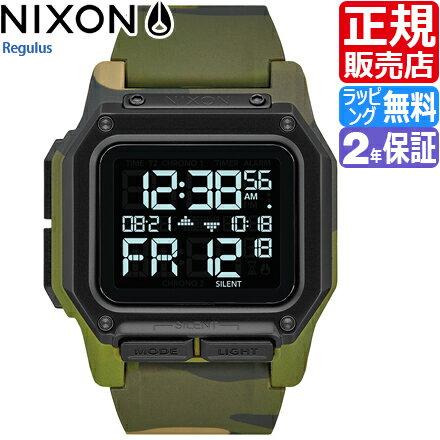 ニクソン レグルス 腕時計 NA11803175 [正規3年保証] メンズ NIXON 時計 THE REGULUS メンズ nixon 入学祝い 誕生日 彼氏 プレゼント おしゃれ ブランド おすすめ 人気