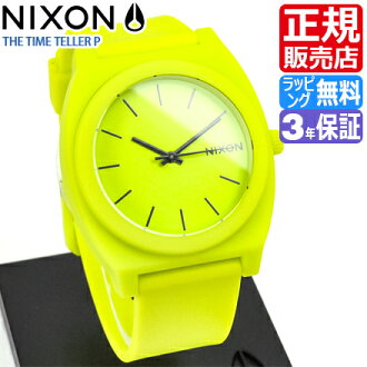 Nixon watch review, Quo card 500 yen ★ A1191262 Nixon time teller p P Nixon watches ladies watches NIXON watch NIXON TIME TELLER P NEON YELLOW Nixon watches mens nixon watch 10P19Dec15
