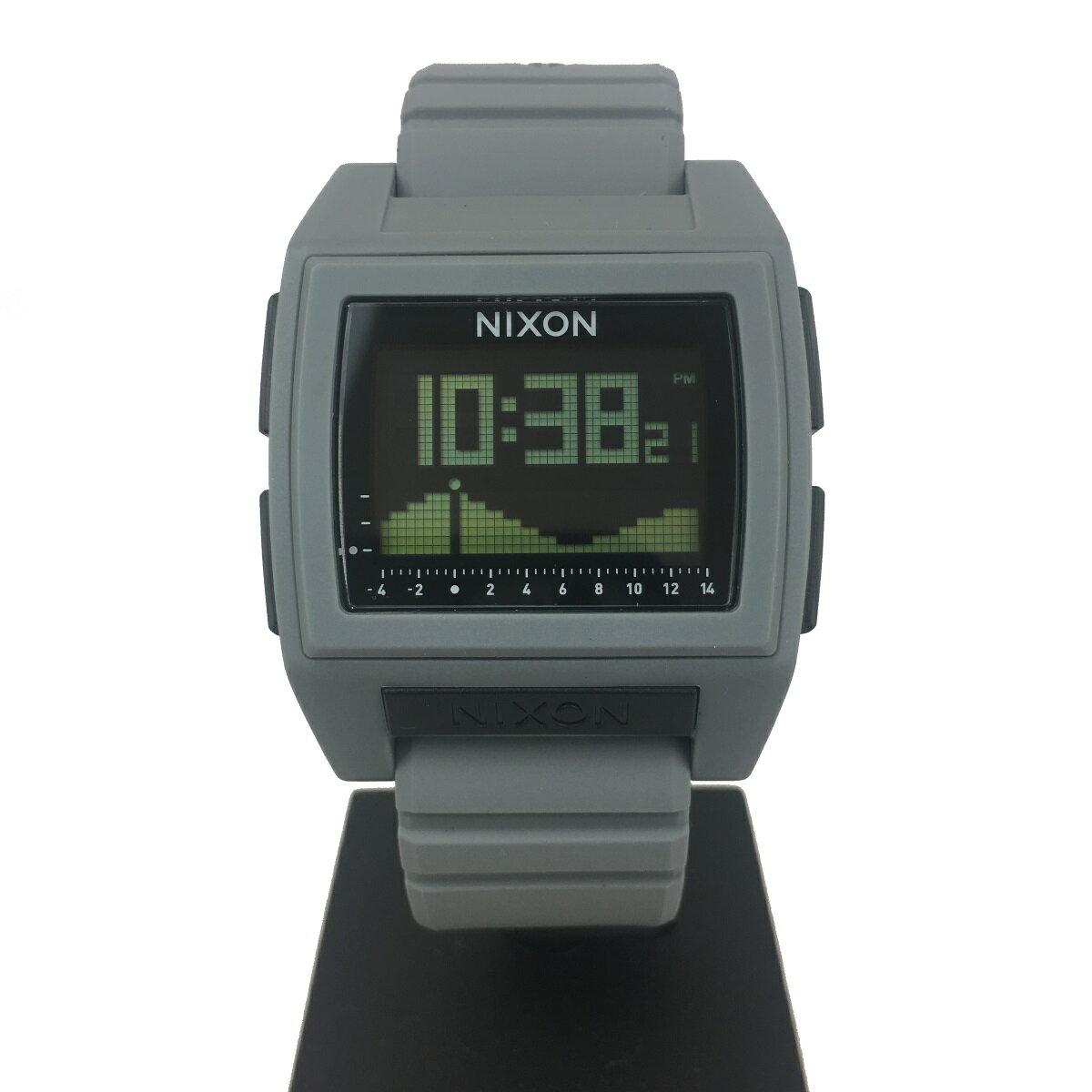 【500円割引クーポン!】 ニクソン 腕時計 NA1212145 [正規3年保証] メンズ NIXON 時計 THE BASE TIDE PRO メンズ nixon 入学祝い 誕生日 彼氏 プレゼント おしゃれ ブランド おすすめ 人気