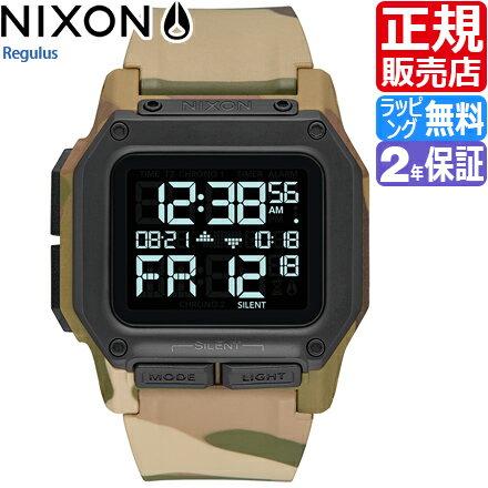 ニクソン レグルス 腕時計 NA11802865 [正規3年保証] メンズ NIXON 時計 THE REGULUS メンズ nixon 入学祝い 誕生日 彼氏 プレゼント おしゃれ ブランド おすすめ 人気