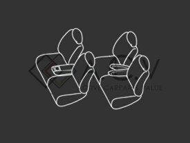 シートカバー N-BOX N BOX エヌボックス JF1 JF2 ベージュ PVCレザーシートカバー H25/12〜H27/1 4人乗り 1セット イス カバー 保護 レザー調 防水 フルセット多数 運転席 助手席 ガード ドレスアップ 車種別専用設計 純正交換式 ACV