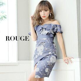 d29e11f762de7  あす楽 キャバドレス ドレス ミニ 大きいサイズ s m l xl サイズ オフショル 花柄