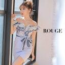 キャバドレス 大きいサイズ ドレス ミニ s m l サイズ ワンピース タイトスカート フリル 花柄 フラワー リボン ウエ…