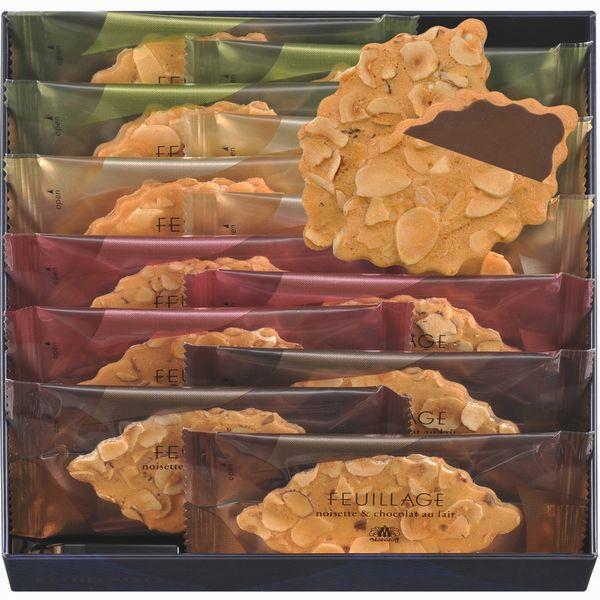 新作登場・贈り物におすすめ★プレゼントに最適です。モロゾフ ファヤージュ MO-1220 繊細なクッキーに、スライスナッツをぎっしりしきつめてパリッと香ばしく焼き上げました。内祝・出産祝・誕生日・入園・御祝・ギフト・結婚祝【smtb-td】【10P05Nov16】【RCP】