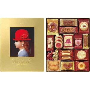新作登場・贈り物におすすめ 赤い帽子 ゴールド 16469 クッキー お菓子セット内祝・出産祝・誕生日・入園・御祝・ギフト・結婚祝【smtb-td】【楽ギフ_包装】【楽ギフ_のし】【楽ギフ_のし