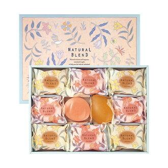 胭脂和推薦的禮品套裝 ~ 資生堂肥皂自然混合集 (花的力量) 10 與 10P12Oct15