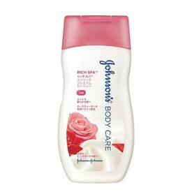 【特価品】 ジョンソンエンドジョンソン ジョンソンボディケア リッチスパ エンリッチ プレミアムローション 上品なピンクローズの香り 200g