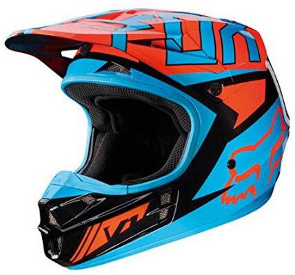 V1 FALCON ヘルメット 2017 ブラック/オレンジ