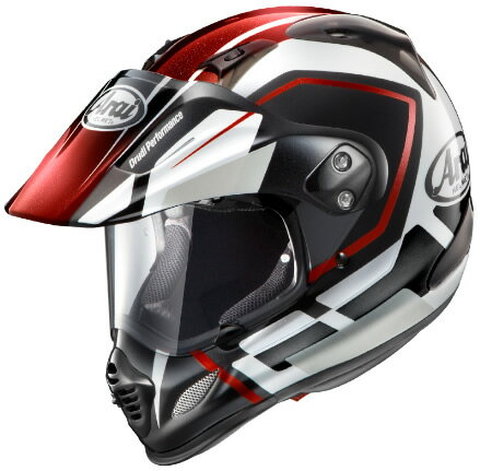 【Arai】 Tour Cross3 DETOUR レッド