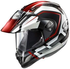 【Arai】アライ TOUR CROSS 3 DETOUR ツアークロス3 デツアー オフロードヘルメット レッド【10013425】