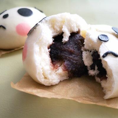 ぱんだまん,熊猫饅頭(ぱんだまんじゅう)中華まん,パンだまん,パンダマン