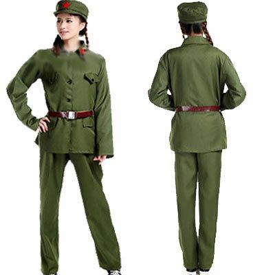 新人民服セット(65年式革命紅工兵表演衣装)(人民服)毛沢東・ミリタリー服 rouishin1209