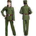 新人民服セット(65年式革命紅工兵表演衣装)(人民服)毛沢東・ミリタリー服