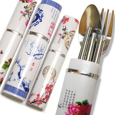 携帯チャイナカトラリーセット【中国食器】折り畳み箸(おりたたみハシ) rouishin1008