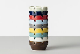 HASAMI BLOCK ASH TRAY ハサミ ブロックアシュトレイアメリカンレトロ 波佐見焼(はさみやき)陶磁器の灰皿【ポイント】: